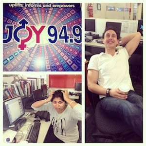 Ginni and Adam S on JOY 94.9