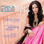 Sheetal on the cover of Bibi Bridal
