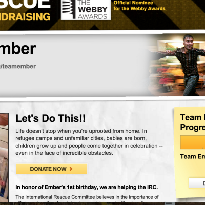 International Rescue Team Ember raised over $4500